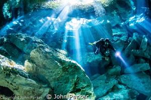 Cenote Taj Maha by John Parker