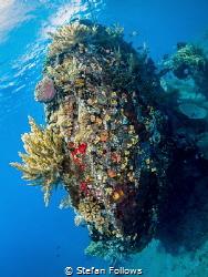 Blunt ... !  Japanese Wreck, Amed, Bali by Stefan Follows