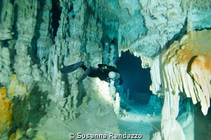 underground cave system, Otoch Ha, Mexico by Susanna Randazzo
