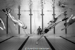 Underwater rugby, Norwegian series A, 4. round 2019 betwe... by Rune Edvin Haldorsen