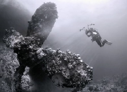 Red sea Umbria wreck. by Sergey Lisitsyn