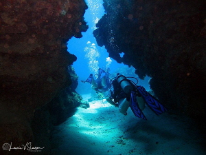 Dive Passage at Eden Rock/Photographed with a Canon G11 a... by Laurie Slawson