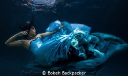Model is Katerina Frantzikinaki wearing a custom gown des... by Bokeh Backpacker