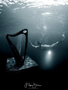 """The mermaid and the harp"", TODI, Belgium. Mermaid: Maria... by Filip Staes"