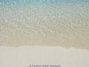 The crystal clear water of Hawksnest Bay, St. John, U.S. ... by Pauline Walsh Jacobson