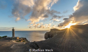 Lighthouse in Faial / Azores by Mathias Weck