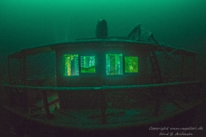 Nelly wreck sank in 1927 and is now laying on 65m depth i... by Rene B. Andersen