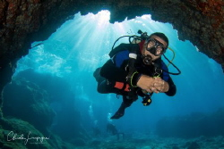 Divers in La Restinga , El Hierro . by Claude Lespagne