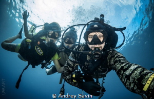 Divers family :) by Andrey Savin
