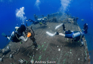 Boga Ship Wreck by Andrey Savin
