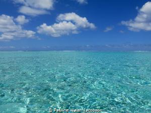 Bora Bora Lagoon by Pauline Walsh Jacobson