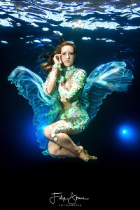"""Must be an angel"", model: mermaid Celine @Todi Belgium by Filip Staes"