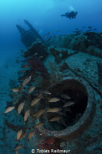 The remains of U-352, North Carolina coast by Tobias Reitmayr