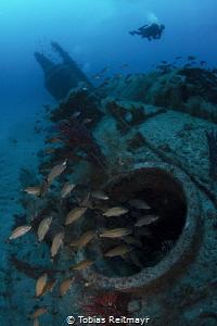 The remains of U-352, North Carolina coast by Tobias Reitmayr