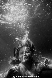 Out swimming by Rune Edvin Haldorsen