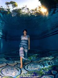 underwater catwalk by Rune Rasmussen