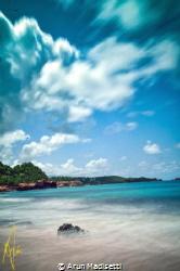 Coastal view East coast Commonwealth of Dominica by Arun Madisetti