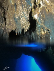 Diving in Catedrale cave - Palinuro - Italy. ISO 800, f/2... by Pablo Gutierrez