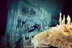 sidemount cave diving always amazing Nohoch Nah Chich_20... by Susanna Randazzo