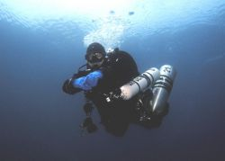 at the end of a dive by Andy Kutsch