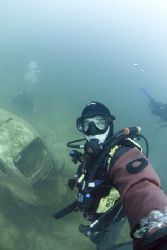 Self portrait, Capernwray.