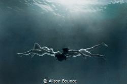 Venus + jupiter by Alison Bounce