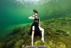 007 Bond Girl under Water - This Photo was taken on Corsi... by Jochen Frenzer