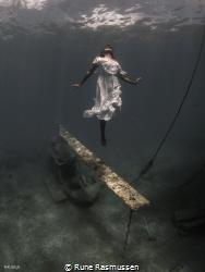 dancer below by Rune Rasmussen