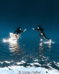Running before times took our dreams away by Luca Keller