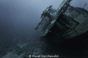 SS Thistlegorm -shipwreck by Pavel Karchevskii