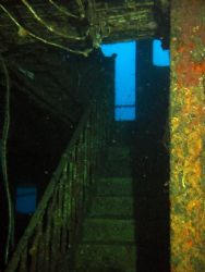 A Picture Taken Inside The Wreck Of The Um El Farrud Whic... by Christopher Cocks