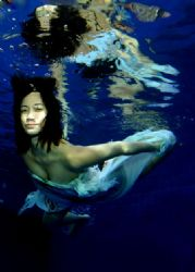 in the pool,..w/ one strobe DS 125.. by Iman Brotoseno