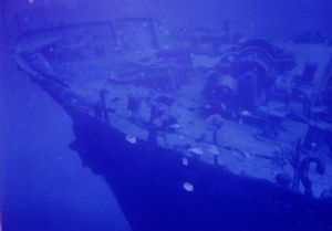 The Shoun Maru's final resting place 30 m below in Sosanh... by Ronnie Hodges