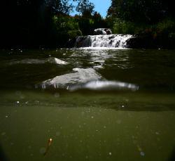 Hawaiian Falls. This photo was taken during an ATV tour i... by Mathew Cook