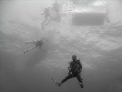 Returning to the dive boat. by Dr Evil