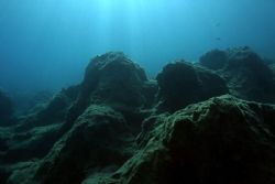 Reef - top of reef in Turkey or is it the moon?? by John M Akar