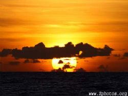 Telephoto lenses do wonders for making the sun larger and... by Zaid Fadul
