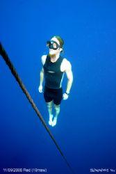 Free diver. by Skinonimus Uw