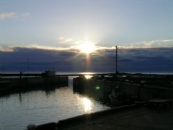 Seahosues, Farne Ialsnds 5.00am Coolpix 5400 by Kevin Hewitt-Devine