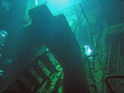 Deep in the bowels of the Fujikawa Maru, part of the Ghos... by George Mcguire