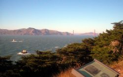 Golden Gate Bridge on SF Coast- shot with 2.0 megapixel O... by Andrew Kubica