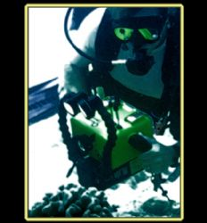 Fantasy Diver. Photo of a videographer I was diving with. by Mathew Cook