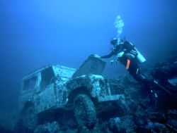 'CHECK YOUR OIL?' Resort vehicle finally discovered at 13... by Rick Tegeler