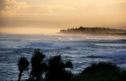 Ocean Morning. Photo taken in Mokuleia, Hawaii. Thanks fo... by Mathew Cook