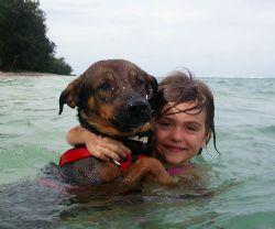 Nicole and Bruno- San Roque Beach- Saipan by Martin Dalsaso