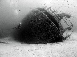 Elviscott wreck isola d'elba toscana by Alessandro Brunelli