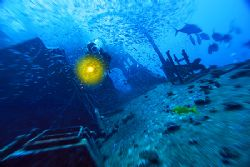 nik D200 - SB800 - wreck near Vakarufalhi - Ari Atoll by Manfred Bail