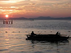 End Of A Beautiful Day! Taken In Mabul, Malaysia With Ca... by Ed Eng