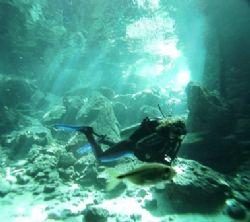 Cenote Dos Ojos, Fresh Water by Kenn Bolbjerg