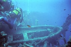 The Zenobia Wreck - Cyprus!